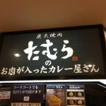 遊びに行った訳ではない 大阪 新大阪駅 炭火焼肉たむらのお肉が入ったカレー屋さん
